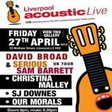 Spotlight #68: Friday 27th April 2012 – Liverpool Acoustic Live