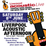 Liverpool Acoustic Afternoon this Saturday 8th June 2013