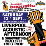 Preview: Liverpool Acoustic Songwriting Challenge launch event – Saturday 12th September 2015