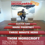 Preview: Liverpool Acoustic eXtra – Friday 13th March 2015