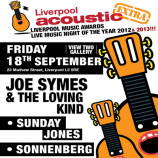 Preview: Liverpool Acoustic eXtra – Friday 18th September 2015