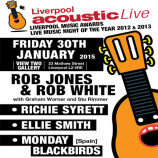 Preview: Liverpool Acoustic Live – Friday 30th January 2015