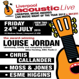 Preview: Liverpool Acoustic Live – Friday 24th July 2015