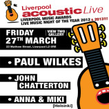 Preview: Liverpool Acoustic Live – Friday 27th March 2015