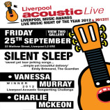 Preview: Liverpool Acoustic Live – Friday 25th September 2015