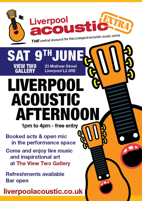 Liverpool Acoustic Afternoon - 9th June 2012