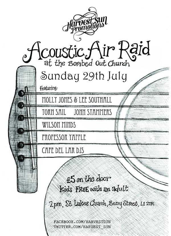 Acoustic Air Raid 2012