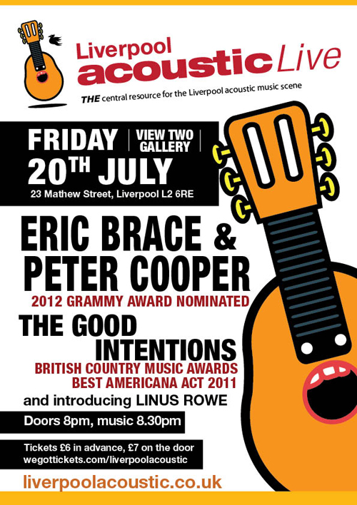 Liverpool Acoustic Live july 20th 2012