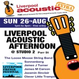 Liverpool Acoustic Afternoon at Liverpool Fringe Festival 2012