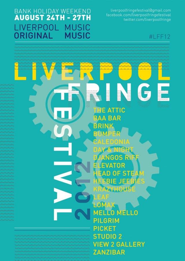 Liverpool Fringe Festival venues 2012