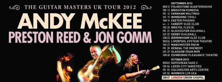 guitar masters uk tour 2012