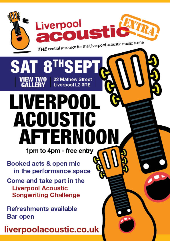 Liverpool Acoustic Afternoon 8th September 2012
