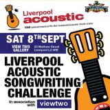 Liverpool Acoustic Songwriting Challenge launch 2012