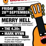 Liverpool Acoustic raises Merry Hell this Friday 28th September