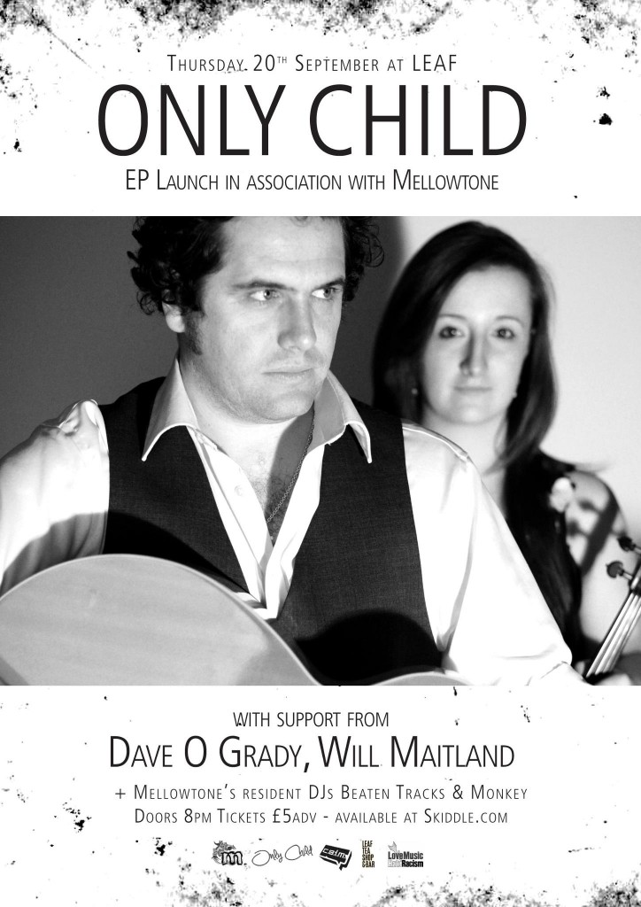 Only Child EP Launch poster