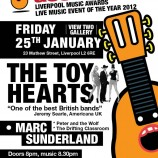 The Toy Hearts hit Liverpool this Friday on the road to Texas