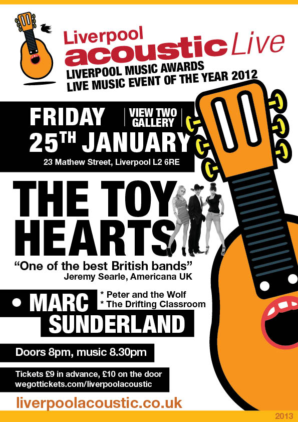 The Toy Hearts at Liverpool Acoustic Live