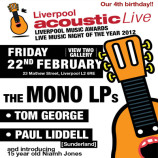 Liverpool Acoustic Live's 4th birthday this Friday