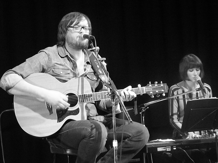 Robert Vincent at the Unity Theatre - photo Ian D Hall