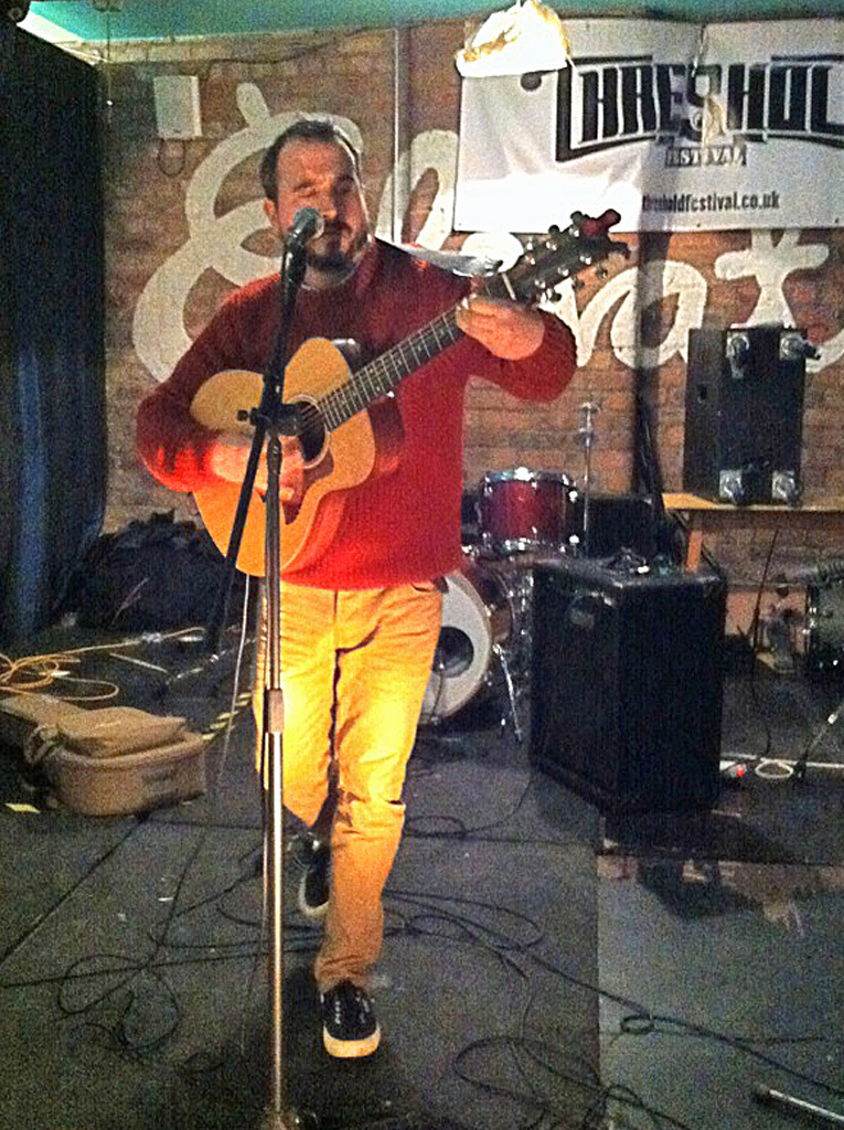 Gary Edward Jones at Threshold 2013