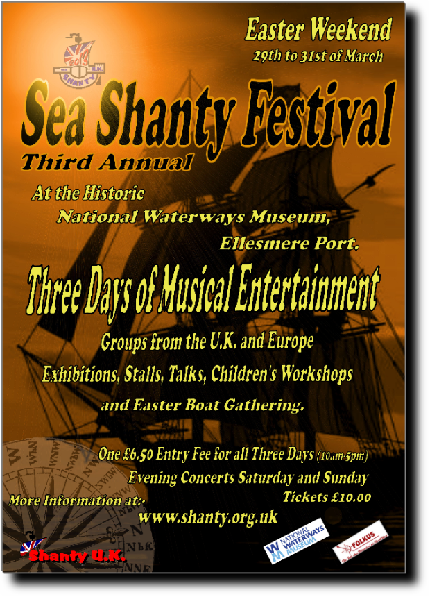Sea Shanty UK 2013 leaflet