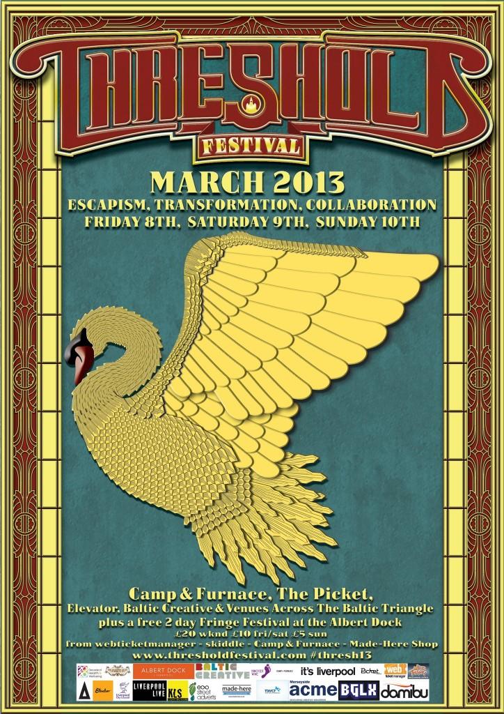 Threshold Festival 2013 poster