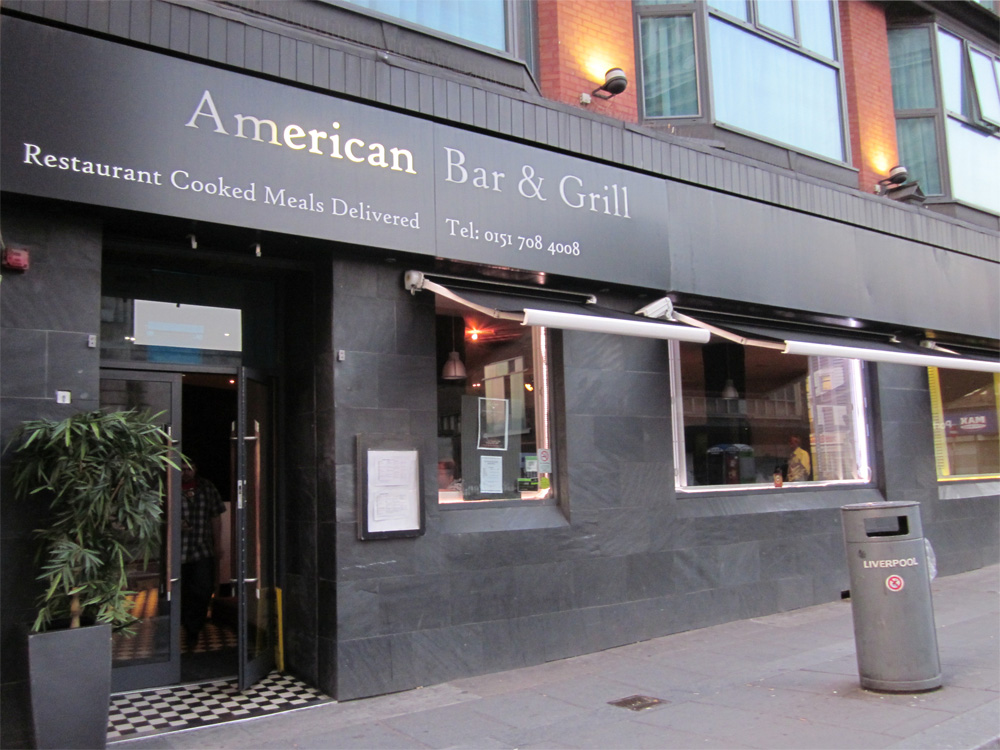 Live review k 39 s choice american bar grill liverpool acoustic - American grill restaurant ...