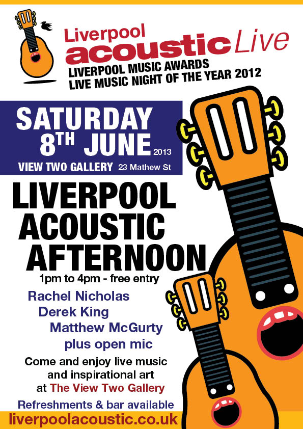 liverpool acoustic afternoon saturday 8th june 2013