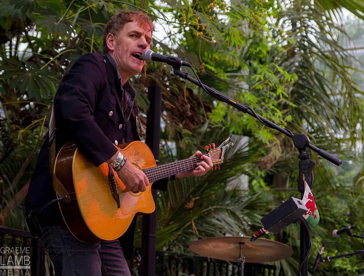 Martyn Joseph at Sefton Park Palm House © Graeme Lamb Media