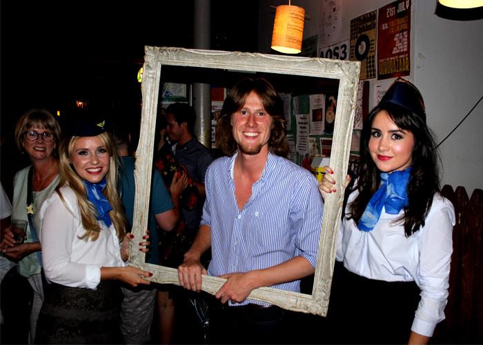 Barney Soanes framed