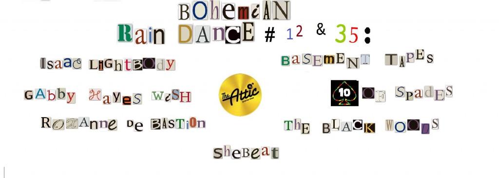 bohemian rain dance 12 & 35