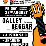 Liverpool Acoustic live from Imperial China – Friday 23rd August 2013