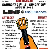 Spotlight 98: Saturday 24th & Sunday 25th August – Liverpool Acoustic Garden