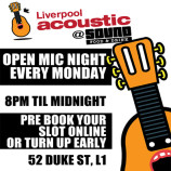 Final Open Mic of the year at Sound Food and Drink this Monday 16th December 2013