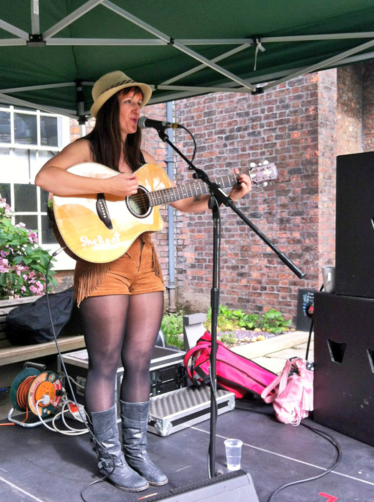 SheBeat @ the Bluecoat garden
