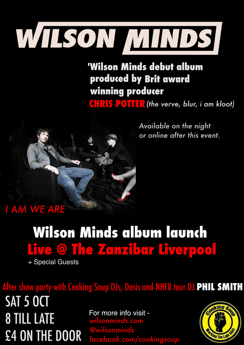wilson minds album launch