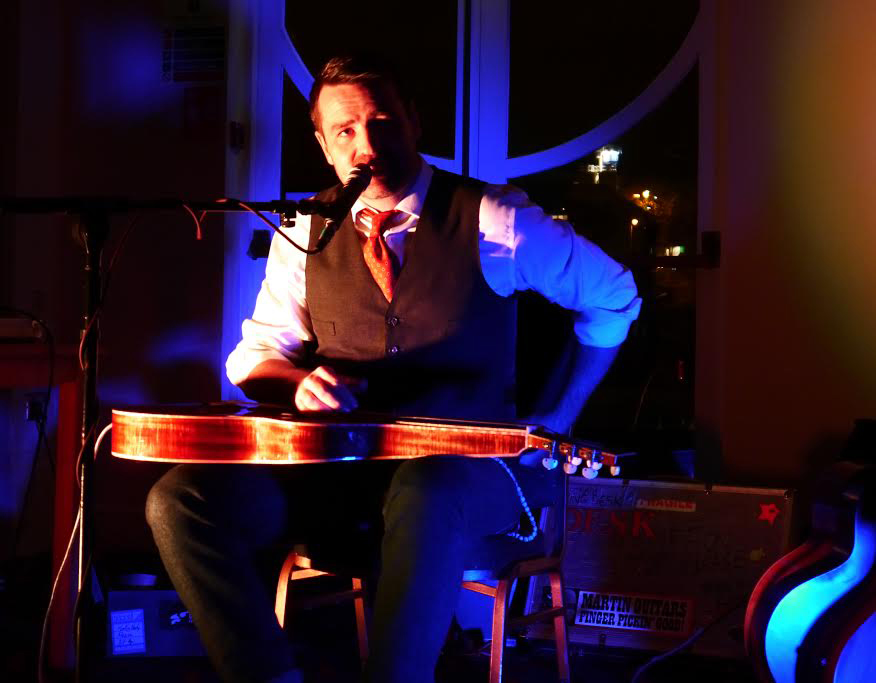Martin Harley at johnny's blues club