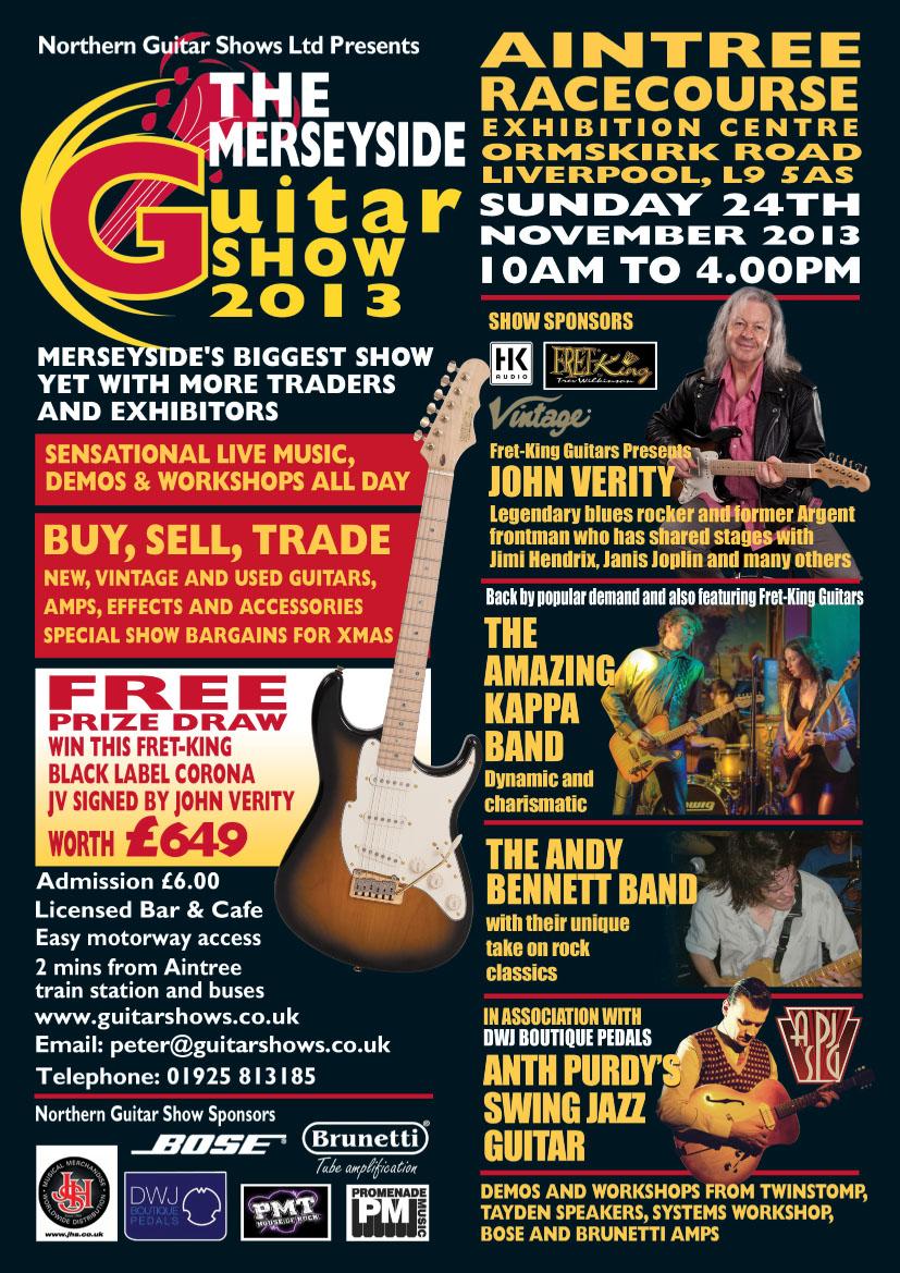 merseyside guitar show 2013