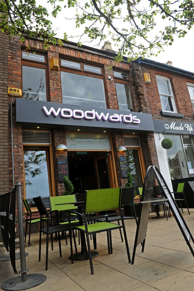 woodwards wine bar formby