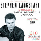 Stephen Langstaff plays EVAC on Thursday 12th December 2013
