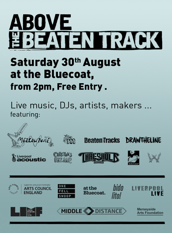 Above the Beaten Track save the date
