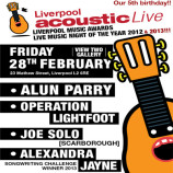 Win tickets to Liverpool Acoustic Live 5th birthday show