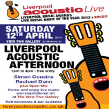 Liverpool Acoustic Afternoon – Saturday 12th April 2014