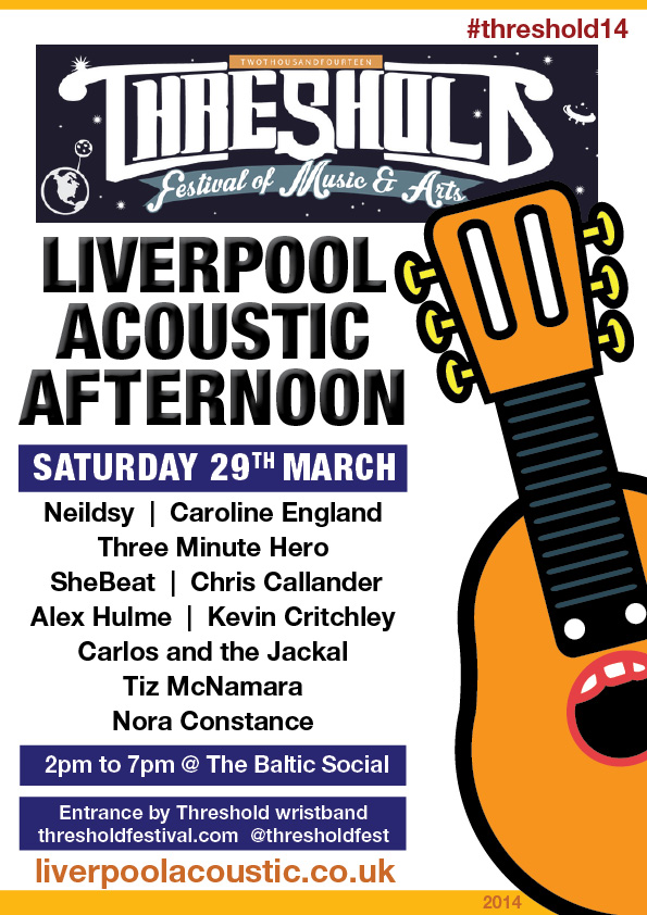 Liverpool Acoustic Afternoon at Threshold 2014