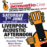 Liverpool Acoustic Afternoon – Saturday 7th June 2014