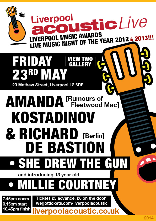 liverpool acoustic live friday 23rd may 2014