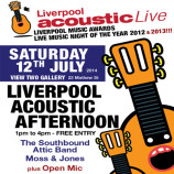 Liverpool Acoustic Afternoon – Saturday 12th July 2014