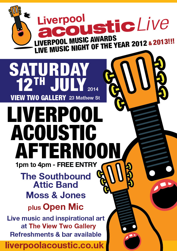 liverpool acoustic afternoon - saturday 12th July 2014
