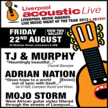Preview: Liverpool Acoustic Live – Friday 22nd August 2014