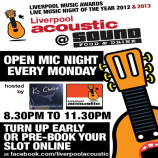 Liverpool Acoustic Open Mic relaunches 1st September 2014